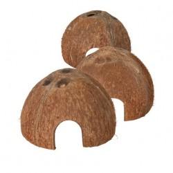 3 halve kokosnoten